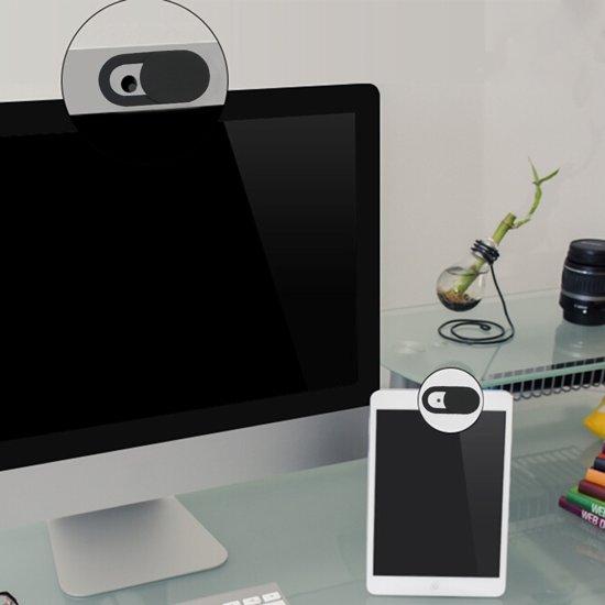 Mobigear Webcam Cover Switch Zwart 3-Pack