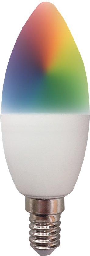 Idinio Slimme E14 Ledlamp 470 Lumen RGB