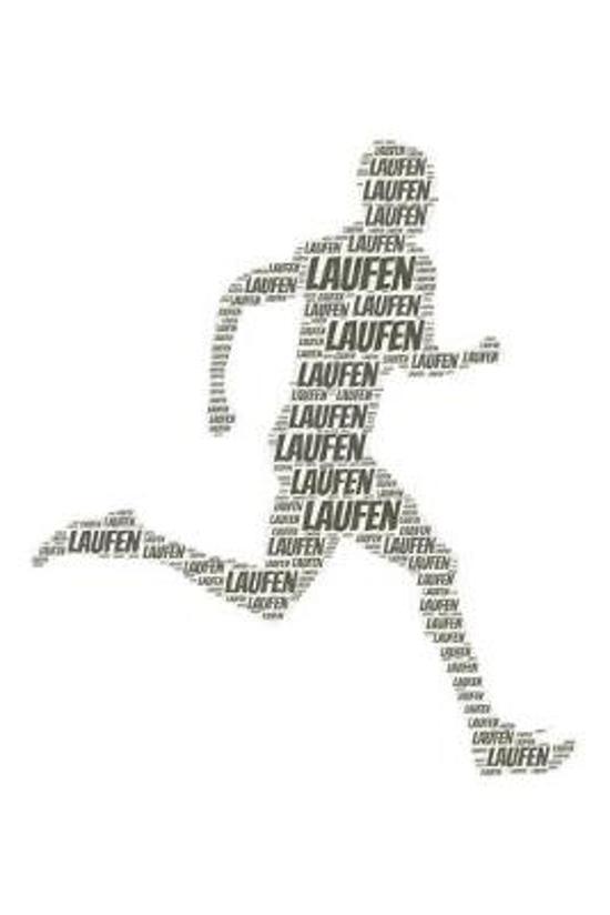 Laufen: Notizblock - Notizbuch - DIN A5, 120 Seiten - Gepunket, dotted, punktkariert, dot grid - Notizen, Termine, Planer, Tag