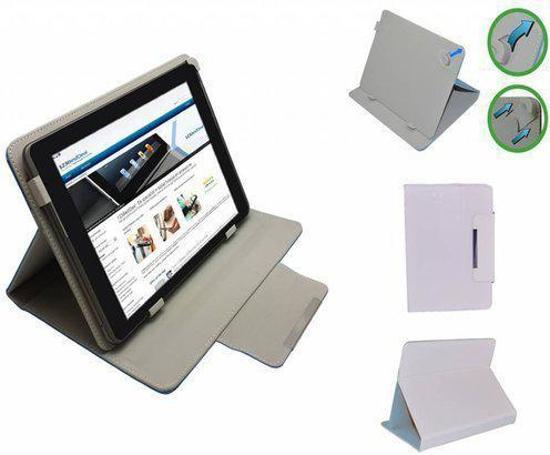 Lexibook Tablet Ultra Diamond Class Cover, Elegante stevige Hoes, Wit, merk i12Cover