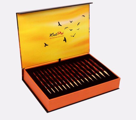 KnitPro 'Golden Light' Verwisselbare Rondbreinaalden - Limited Edition Set