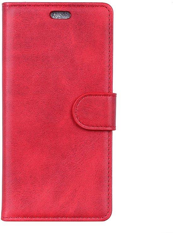 Huawei P30 Lite Hoesje - Luxe Book Case - Rood