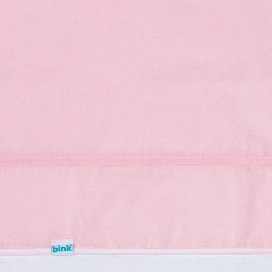 BINK Bedding Ledikantlaken Bo Roze 100 x 150 cm