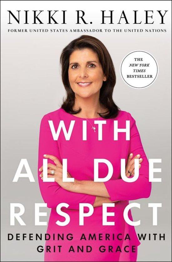 Boek cover With All Due Respect van Nikki R. Haley (Onbekend)
