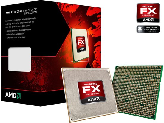 FX-6100 Six core desktop 3.3GHz CPU. With Turbo Boost 3.9GHz. 6MB L2 and 8MB L3cache. Socket AM3+. 95 Watt. Box