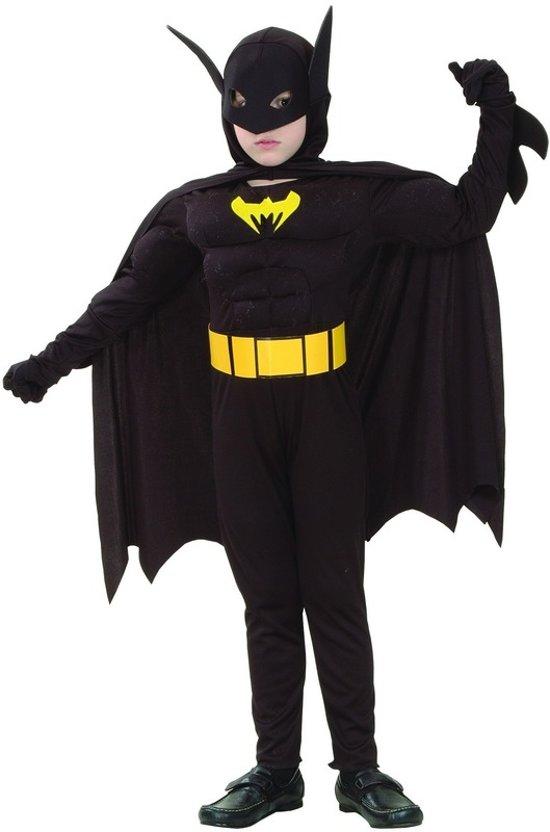 Vleermuisheld gespierd - Kostuum voor kinderen - Maat 120-130