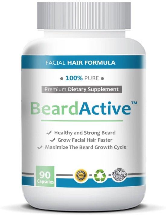 Beard Active - Voor een Gezonde en Vollere Baardgroei