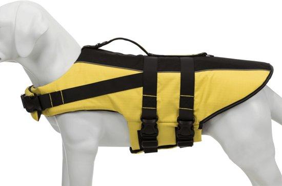 Trixie Zwemvest Hond Geel S Buikomvang: 42-66 cm tot: 20 kg Kleur: geel/zwart Ruglengte: 35 cm