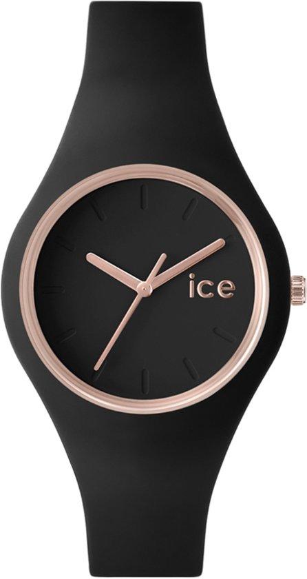 Ice-Watch Glam Black Rose-Gold Unisex ICE.GL.BRG.S.S.14 - Horloge - Zwart-  38 mm