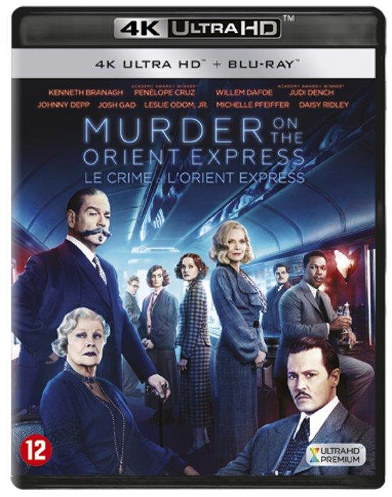 DVD cover van Murder On The Oriënt Express (4K Ultra HD Blu-ray)