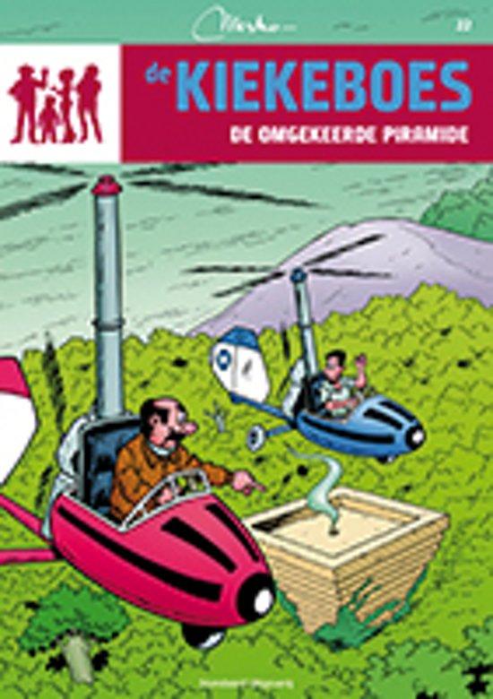 Boek cover De Kiekeboes 22 - De omgekeerde piramide van Merho (Paperback)