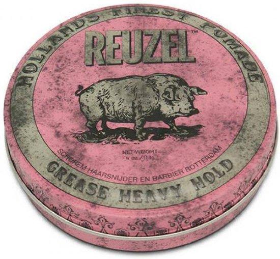 Reuzel Grease Heavy Hold Pig Pink Haar Wax - 113g