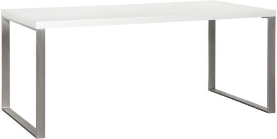 Witte Tafel 180x90.Bol Com Woonexpress Winsum Eettafel Wit 180x90 Cm