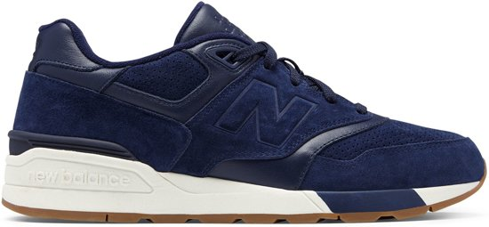 New Balance  597 Classics Traditionnels Sneakers - Maat 45.5 - Mannen - paars