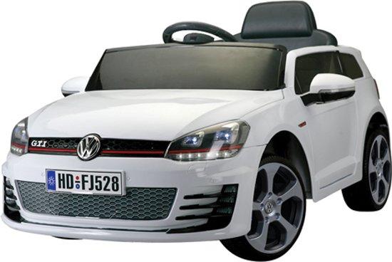 Bol Com Volkswagen Golf Gti Wit Met Afstandsbediening Elektrische
