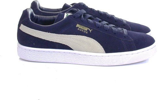 Maat Sneakers Suede Puma Classic Dames Blauw 38 paqp5XAwx