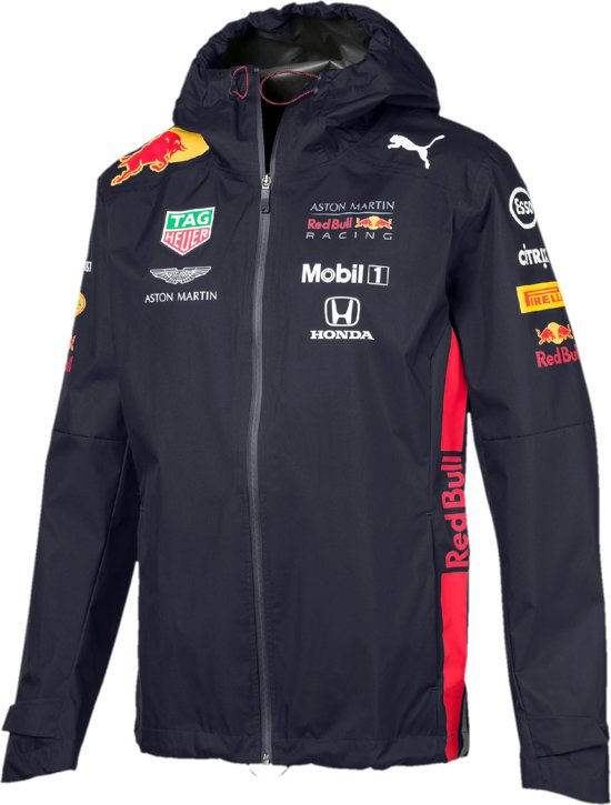 PUMA Red Bull Racing Team Rain Jacket Jas Heren - Night Sky