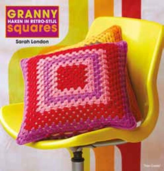 Bolcom Granny Squares Haken In Retro Stijl Sarah London