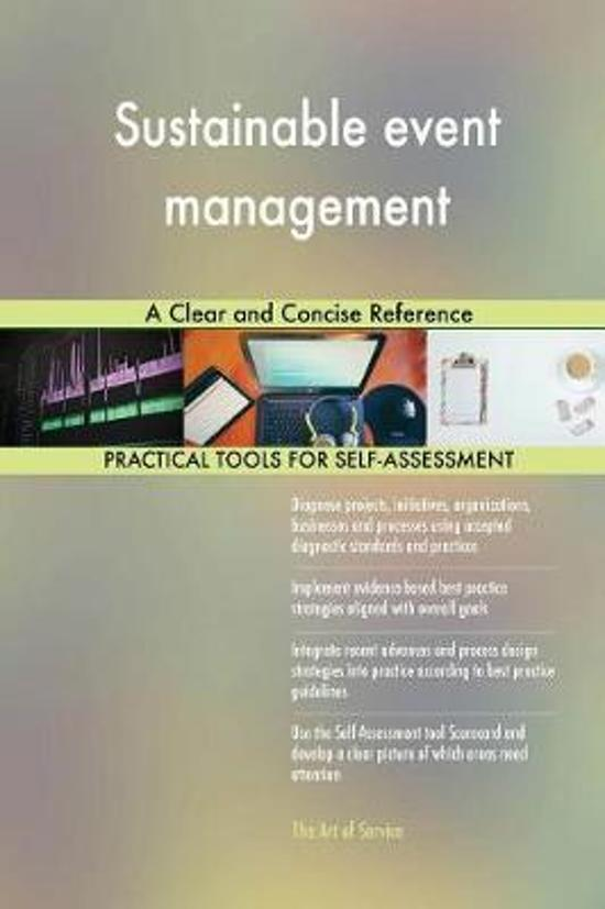 Sustainable Event Management a Clear and Concise Reference