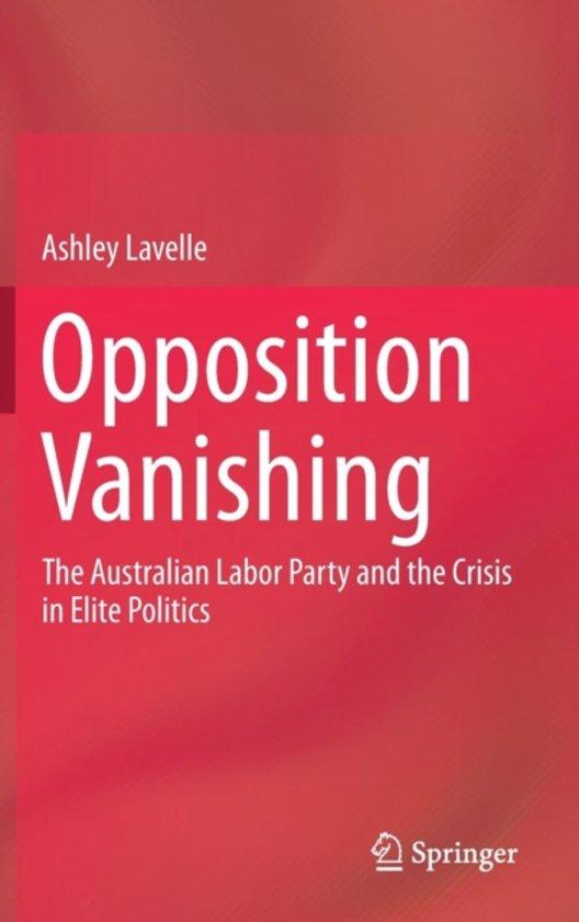 Opposition Vanishing