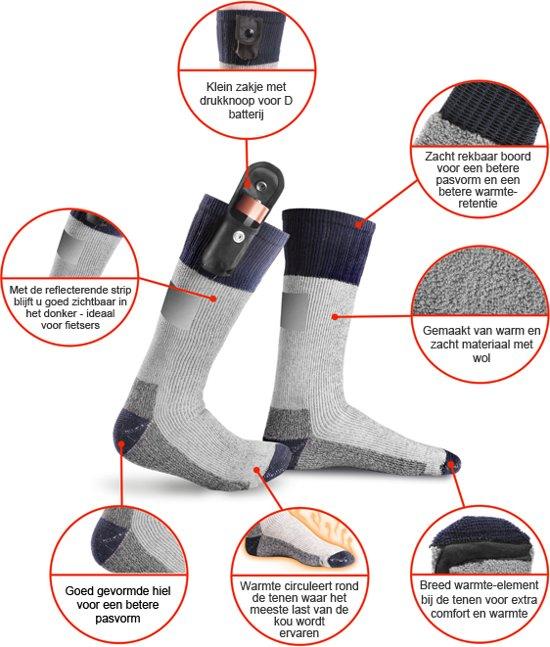 Reflecterende Warmawear Met Kousen Verwarmde Op Batterijen Strips PXZiOku