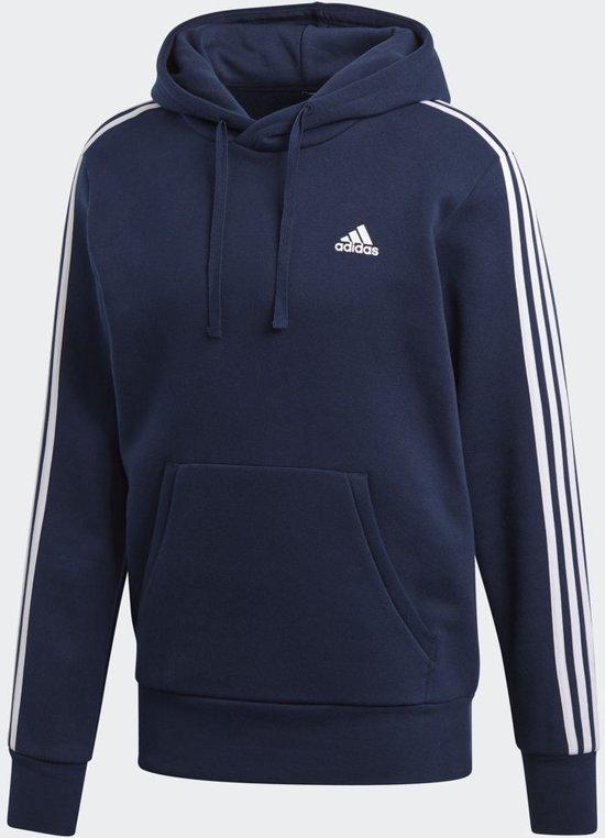 adidas Essentials 3Stripes PO B Sweater Heren Collegiate NavyWhite