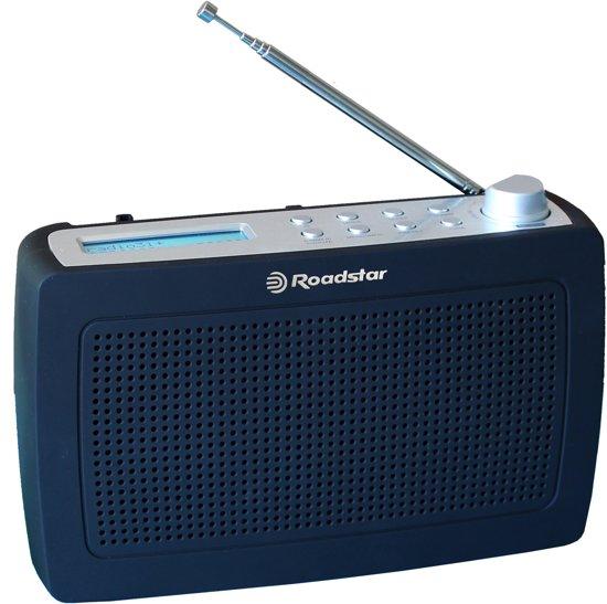 Roadstar portable radio met DBA+, FM en aansluiting voor hoofdtelefoon