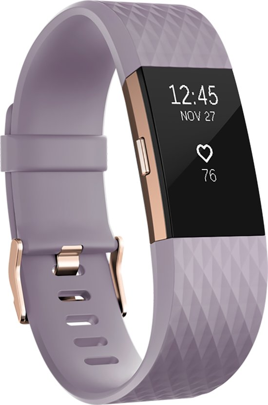 Fitbit Charge 2 - Activity tracker - Lila Special Edition - Small