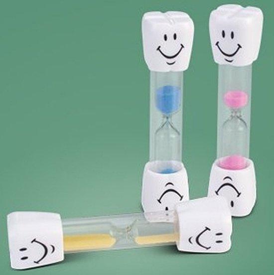 Afbeelding van het spel Zandloper voor het tandenpoetsen (blauw)