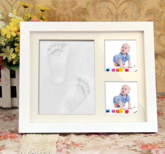 Bolcom Baby Art Fotolijst Voor Voetafdruk Of Handafdruk