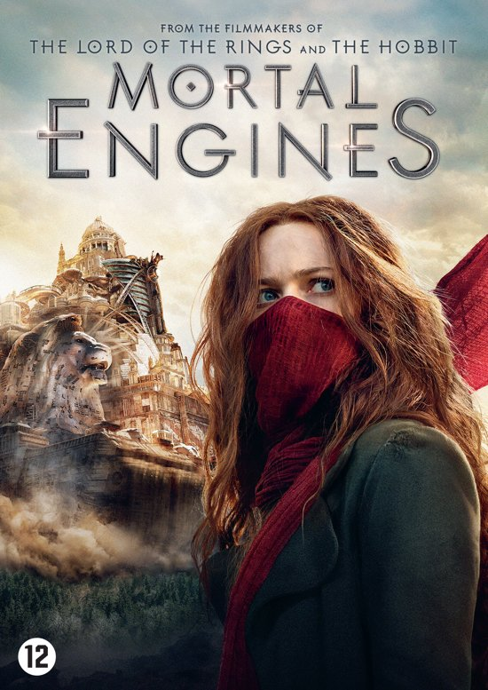 DVD cover van Mortal Engines