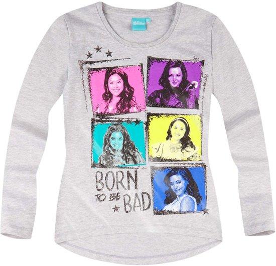 Disney-Descendants-T-shirt-met-lange-mouw-grijs-maat-152