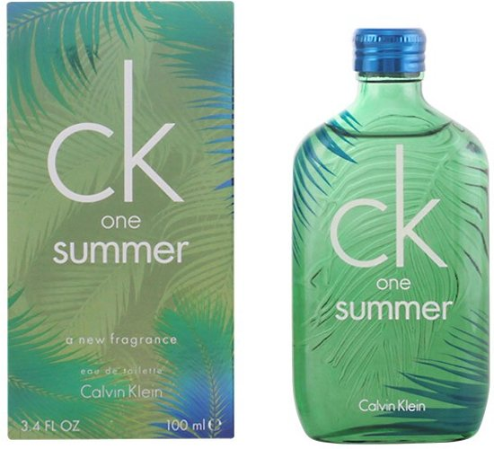 MULTI BUNDEL 2 stuks CK ONE SUMMER 2016 eau de toilette spray 100 ml