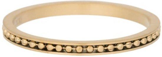 iXXXi Jewelry Vulring 2mm Mambo Mat goudkleurig - maat 18