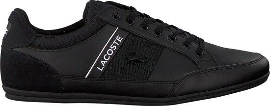 Lacoste Chaymon  Sneakers - Maat 44 - Mannen - zwart