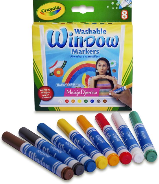 Crayola raamstiften MeisjeDjamila