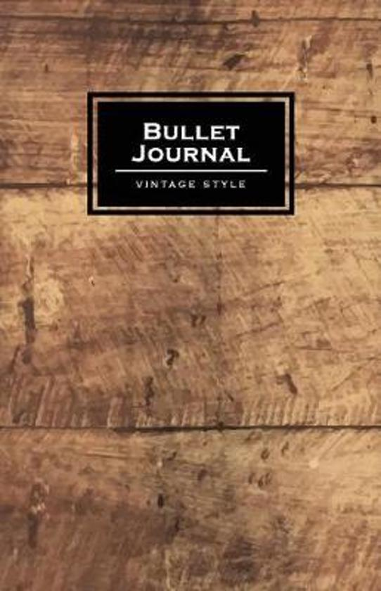 Bullet Journal Vintage Style
