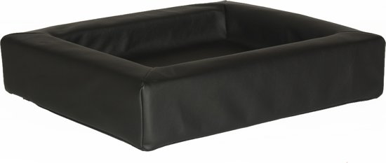 Comfort-Kussen hondenmand leatherlook 120 x 100 x 15 cm - Zwart