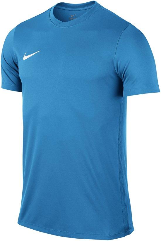 Nike Park VI SS  Sportshirt - Maat S  - Mannen - lichtblauw