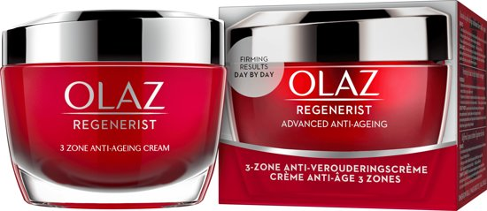 Olaz Regenerist 3-Zone Super Verstevigende Anti-Verouderingscrème - 50 ml - Dagcrème