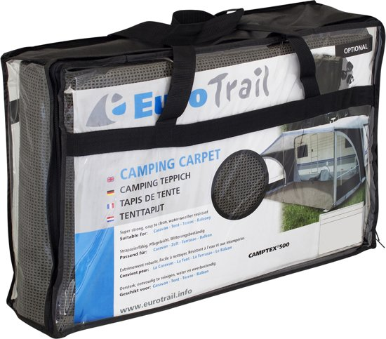 Eurotrail Camptex Tenttapijt - 300 x 400 cm - Grijs