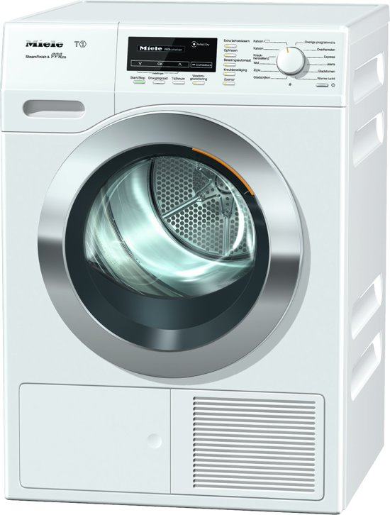 Miele TKG 850 WP Eco - Warmtepompdroger - Chrome Edition