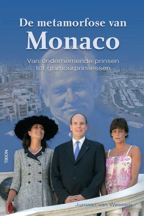 Boek cover De Metamorfose Van Monaco van Jurriaan van Wessem (Onbekend)