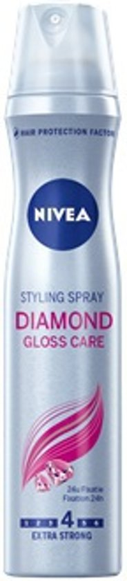 NIVEA Diamond Gloss Care Styling Spray Haarlak - 250 ml
