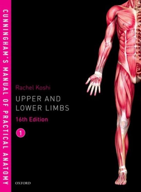 Bol Cunninghams Manual Of Practical Anatomy Vol 1 Upper And