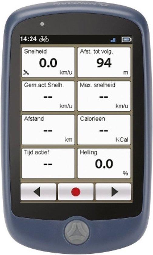 """Navman Bike 1000 - GPS Fietsnavigatiesysteem - 3,5"""" - Zwart"""