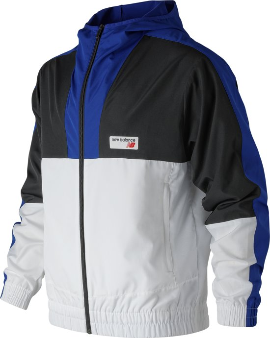 Windbreaker Sportjas HerenWhite Athletics Balance New ukiXZP