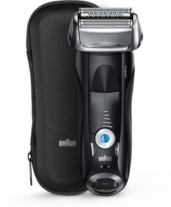 Braun Series 7 7840s Wet&Dry Scheerapparaat met scheerblad Trimmer Zwart scheerapparaat