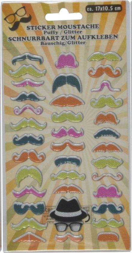 Stickervel snorren type 3