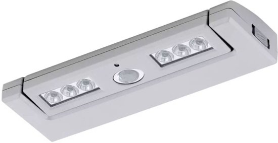 bol.com | EGLO LED Lamp op Batterijen Baliola 6 LED\'s Zilver